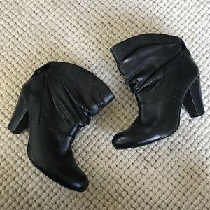 BCBGeneration Black Dash Ankle Boots